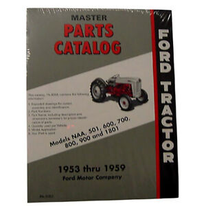 Tractor Master Parts Fits Catalog Fits Ford Holland 1801 501 600 601 700 800 801