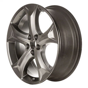 Wheel For 2009 2015 Toyota Venza 20x7 5 Hyper Silver Refinished 20 Inch Rim