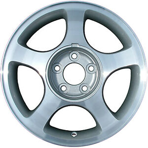 Wheel For 2000 2004 Ford Mustang 16x7 5 Chrome Refinished 16 Inch Rim