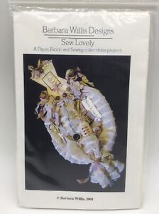 Barbara Willis Designs Sew Lovely Paper Fabric Sewing Collectible Project Kit