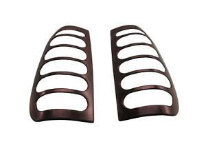 Slotted Taillight Guards Covers Fits 99 00 Ford F 250 F 350 Super Duty Pickup