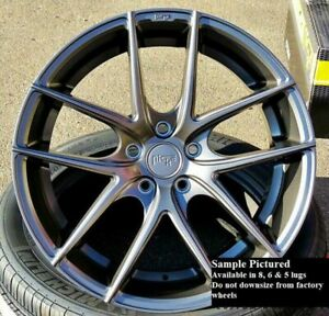 Staggered Rims 20 Inch Wheels For 2013 2014 2015 Camaro Ls Lt Rs Ss Only 5734