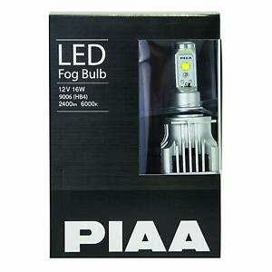 Piaa 17102 H8 H11 H16 White Led Performance Bulb Twin Pack