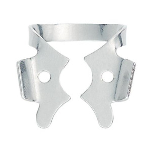 Coltene Whaledent H05689 Hygenic Rubber Dam Clamp 3 Winged Flat Jawed Metal