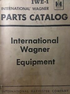 International Ih Tractor Wagner Front Loader Backhoe Attachments Parts Manual