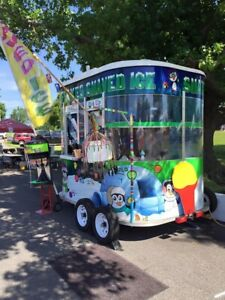 Food Trucks For Sale Shaved Ice Trailer Snow Cone Snowie Trailer