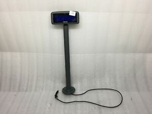 Micros Lcd Pole Display With 18 In Pole For Micros Ws4 Ws5 Ws5a Tested