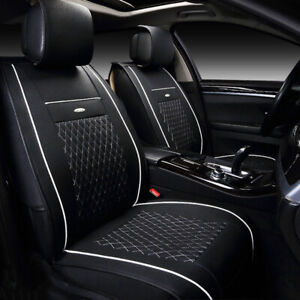 Us Car 5 Seat Pu Leather Seat Cover Cushion For Nissan Altima Sentra Rogue Kicks