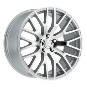 Silver Mach 19 Inch 4 Wheel Rims For Ford Mustang 2015 19x9