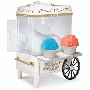 Nostalgia Electrics Scc 200 Vintage Collection Snow Cone Cart