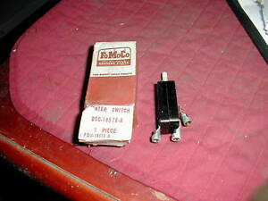 Nos Fomoco 1956 Ford Truck Heater Switch F Series