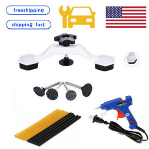 Us Car Body Hail Paintless Dent Puller Tool Kit Removal Lifter Glue Sticks Auto