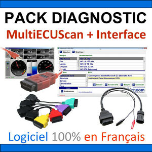 Pack Of Diagnosis Obdlink Sx Usb Multiecuscan Official Adapters