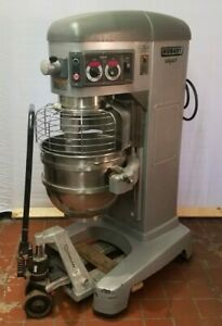 Hobart Hl662 Legacy 60 Qt Mixer With Dough Hook And Ss Bowl 200 240v 1 Or 3 Ph