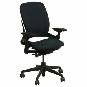Executive Office Chair Steelcase Leap V2 Office Chair Fully Loaded Black bulk
