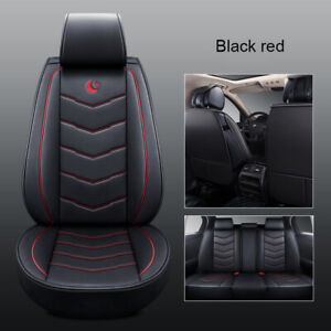 Us Moon Auto Car Leather 5 seat Seat Cover Front rear For Mazda 3 6 Cx 7 Cx 5
