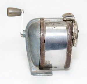 Vintage Boston Pencil Sharpener Self Feeder 4 Wall Desk School