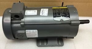 Baldor Cdp3455 Dc Motor 1 Hp 180 Vdc 1750 Rpm 56c Frame 34 5990 3865 New No Box
