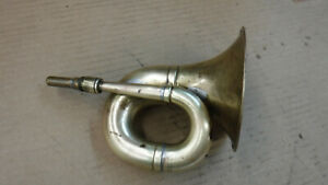 Antique Car Small Brass Horn Reo Mt 5229