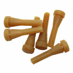 Shockproof 60pcs Chicken Plucker Fingers Poultry Duck Goose Feather Plucking