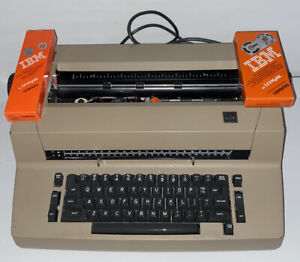 Green Ibm Selectric Ii 2 Electric Typewriter Tested Working With Correction