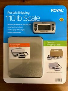Brand New Sealed Royal Dg110 Shipping postal Scale 110 Lb Capacity