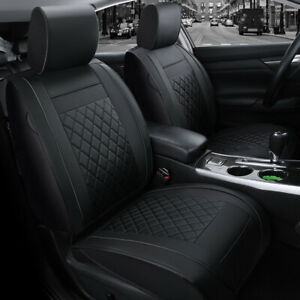 Us Car 5 Seat Moon Pu Leather Seat Cover Cushion For Toyota Camry Corolla Rav4