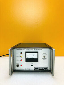 Racal Dana 9475 1 Mhz Output 3 Outputs 50 Ohm Rubidium Frequency Standard Tested