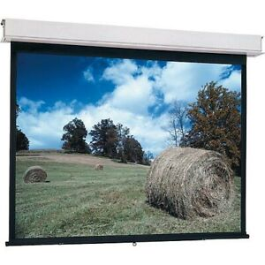 Da lite Advantage Manual Projection Screen 85739c controlled Screen Return