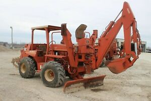 1980 Ditch Witch 6510dd Open Cab Trade in Good Condition American Made