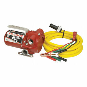 Fill rite Rd1212nn 12 Volt Dc 12 Gpm Portable Fuel Transfer Pump With Power Cord