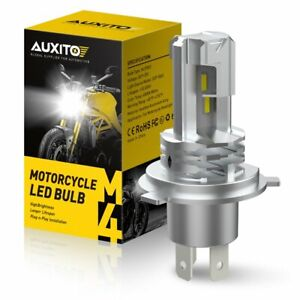 Auxito H4 9003 Csp Led Bulb Hi Lo Beam Hid White Motorcycle Headlight High Power