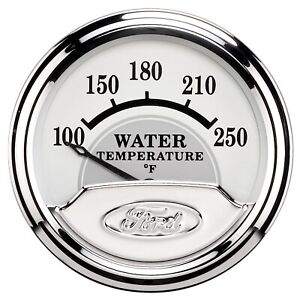Autometer 880353 Ford Masterpiece Electric Water Temperature Gauge