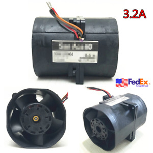 3 2a Electric Turbine Car Turbo Charger Dual Air Boost Fan Fuel Save Go Kart Usa