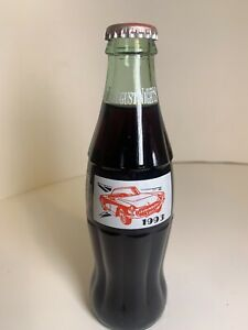 1993 HOT AUGUST NIGHTS RENO NV AUGUST 5 - 8 1993  8 OZ COCA - COLA BOTTLE FULL