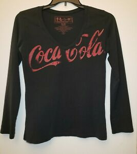 Women's Coca Cola Shirt. Made With Recycled Plastic Coke Bottles. Size XL.
