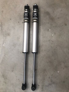 Icon 1 5 3 Inch Rear 2 0 Aluminum Series Shock For 2005 2017 Toyota Tacoma