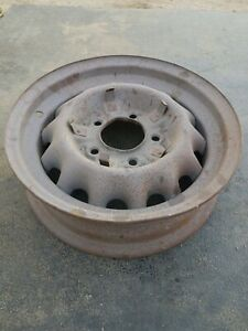 Ford 16 Artillery Wheel 5 On 5 1 2 Coupe Sedan Pickup Truck Military Scall