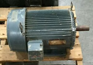 Us Electric 10 Hp Unimount Motor 3500 Rpm 230 460v Fr 215t 3 Ph