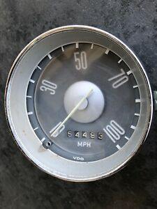 Low Use Vw Type 311 Fastback Squareback Speedometer Part 311 957 033a