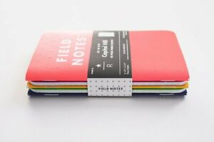 New Field Notes Capitol Hill Sealed Pack Of 5 Notebooks