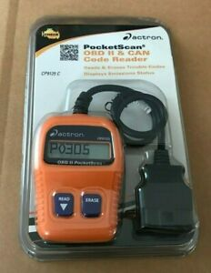 Actron Cp9125c Pocketscan Obd2 Check Engine Light Code Reader Tool