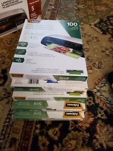 Fellowes Laminating Pouches Letter Size Hot Pouch 9 X 11 5 5 Mil 500 Pack