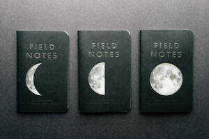 New Field Notes Lunacy Sealed Set Of 3 Memo Books