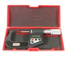 Starrett 733xflz 2 733 Series 1 To 2 Sae And Metric Digital Outside Micrometer