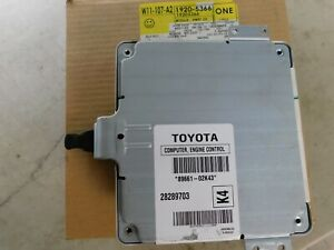 Toyota Matrix Pt 28289703 Acdelco Gm Pt 19205366 Vibe Engine Control Computer