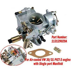 New Car Carburetor For Vw Beetle 30 31 Pict 3 Type 1 2 Bug Bus Ghia 113129029a