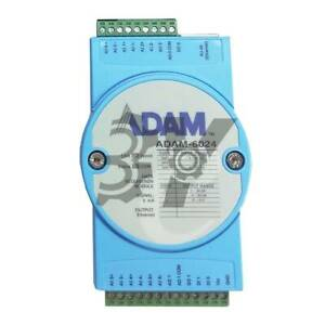 1pc Used Adam 6024 12 way Isolated Universal Tcp Module Supporting Modbus