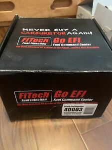 Fitech Fuel Injection 40003 Go Efi Fuel Command Center Sump Kit