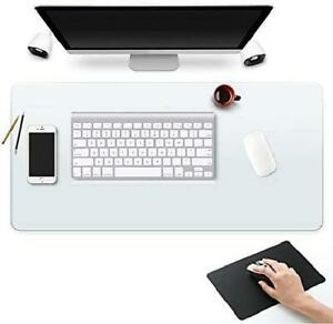 Clear Desk Pad Blotter Mats Office Table Protector On Top Of Desks For Laptop